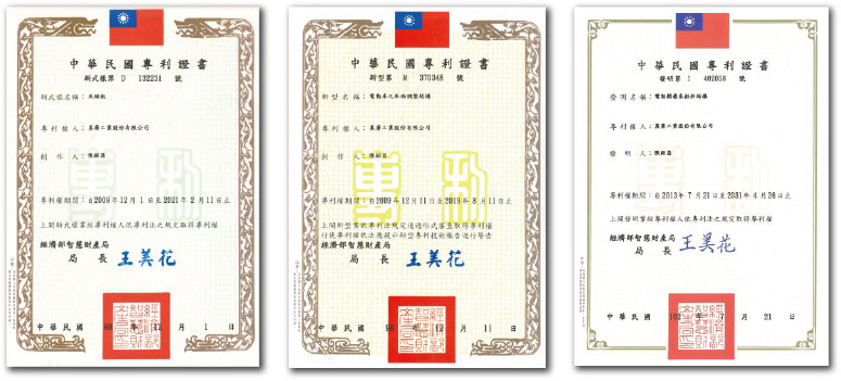 chen kuang industries company ltd md Taiwan patent no
