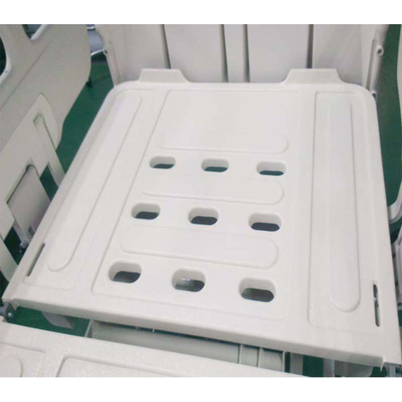 ventilator washable abs platforms restraint constraint locker hole medical long care bed m4p ha4 t
