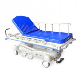 electric stretcher-Trendelenburg-aluminum siderail-foot control-hospital-medical-rehabilitation-emergency-examination-nursing-SS360-Chen Kuang