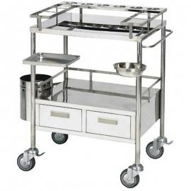 Nursing Cart-#304stainless steel