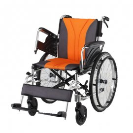 wheel chair-mobility aid-transit wheel chair-self-propelled-attendant-propelled-armrest-nursing-disability-ck-9160-chen kuang
