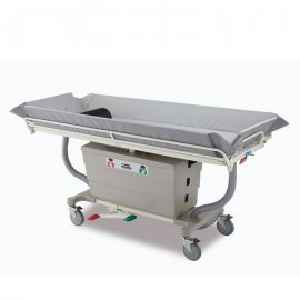hydraulic-shower-trolley-bed-bath-mobile-trolley-stainless-steel-guard-rails-platform-ck-6000-chen-kuang/不銹鋼油壓升降洗澡床-醫院用-看護用-醫療用-CK-6000-真廣