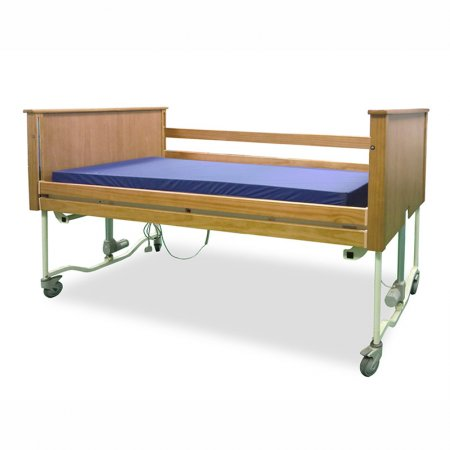 electric-collapsible-packing-fence-type-bedside-safety-guard-rails-home-medical-care-bed-ffe-up4-t/床墊示意-木質床頭尾-木質護欄-歐洲熱銷-居家用-看護用-安養用-ffe-up4-t-真廣
