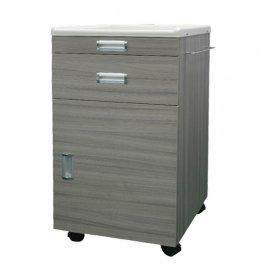 SF031-A POM & Wood Bedside Cabinet