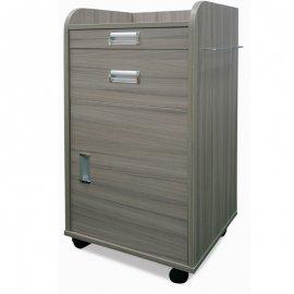 SF032-C POM & Wood Bedside Cabinet