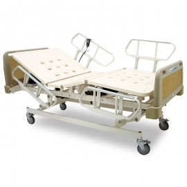 4-bedside-safety-guard-rails-pull-up-down-adjust-electric-hospital-medical-care-bed-ss-600-chen-kuang