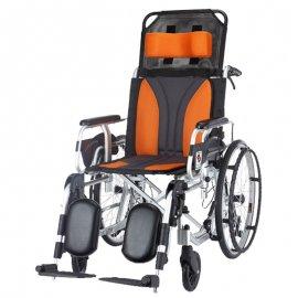 wheel chair-mobility aid-transit wheel chair-self-propelled-attendant-propelled-armrest-nursing-disability-MA-WC-001-chen kuang-輪椅-行動輔具-身心障礙-長照-照護--真廣