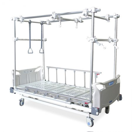 Orthopedic traction frame - orthopedic bed - traction facility – rehabilitation – care – health - electric bed - manual bed - medical-MK-03-BOM-chen kuang-1