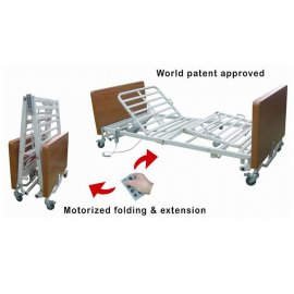 electric-collapsible-packing-fence-type-bedside-safety-guard-rails-home-medical-care-bed-SS888-FM-chen-kuang/全電動收合展開-四馬達電動折疊床-木質床頭尾-全覆式鋁合金護欄-居家用-看護用-安養用-SS888-FM-真廣